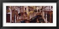 Framed Canale Di Venezia