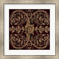 Framed Baroque Medallion II