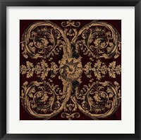 Framed Baroque Medallion II