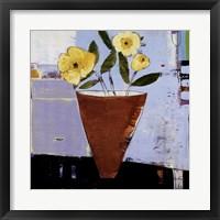 Framed Yellow Flowers II