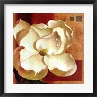 Magnolia Square II Framed Print