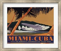 Framed Miami-Cuba