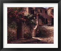 Framed Magliano Courtyard