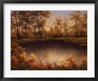 Framed Autumn's Song