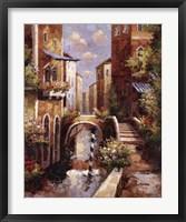 Framed Venice Canal II