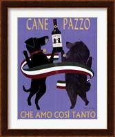 Framed Cane Pazzo