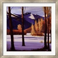 Framed Colorado Snow