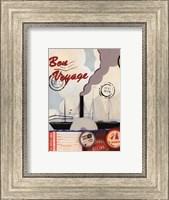 Framed Bon Voyage II