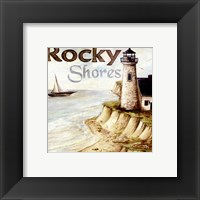 Rocky Shores Framed Print