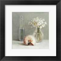 White Flower Spa Framed Print