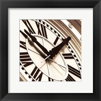 Clock I Framed Print
