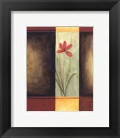 Red Pedals Framed Print