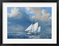 Framed Majestic Sails