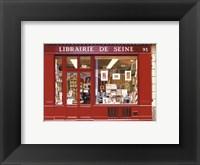 Framed Librairie De Seine