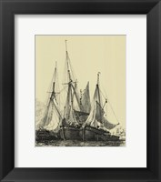 Ships And Sails I Framed Print