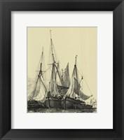 Framed Ships And Sails I