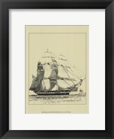 Framed Ships And Sails III