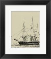 Framed Ships And Sails V