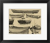 Framed Boat Craft I