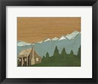 Framed Montana Sky #1