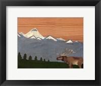 Framed Montana Sky #2