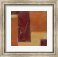 Framed Orange Two-Step I