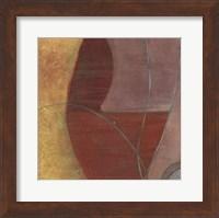Framed Sun Tendrils I