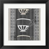 Framed Cup Of Tea III