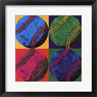 Ball Four - Baseball Framed Print