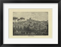 Piranesi View Of Rome I Framed Print