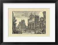 Framed Piranesi View Of Rome III