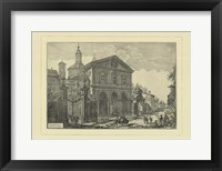 Piranesi View Of Rome IV Framed Print