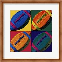 Framed Ball Four - Football