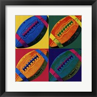 Ball Four - Football Framed Print