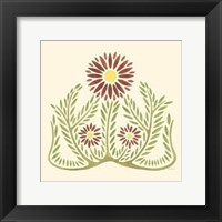 Framed Flourishing Blossoms I