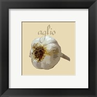 Italian Vegetable III Framed Print