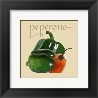 Framed Italian Vegetable IV
