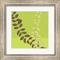 Framed Serpentine Vines I