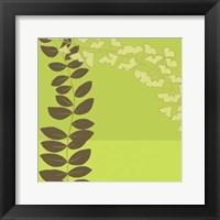 Framed Serpentine Vines IV