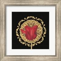 Framed Tulip Medallion II