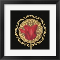Framed Tulip Medallion II