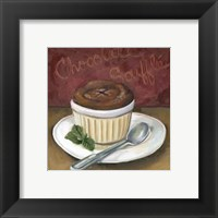 Framed Chocolate Souffle