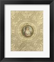 Framed Miniature Portrait II