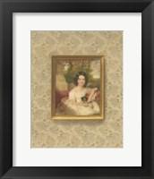 Framed Miniature Portrait III