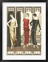 Framed Art Deco Elegance I