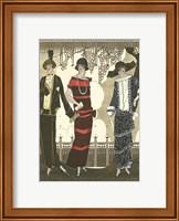 Framed Art Deco Elegance II