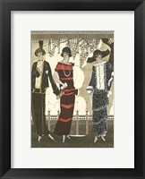 Framed Art Deco Elegance II