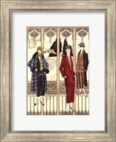 Framed Art Deco Elegance III