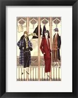 Art Deco Elegance III Framed Print
