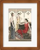 Framed Art Deco Elegance IV